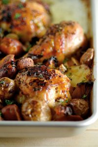 Spanish Chicken & Chorizo by Nigella